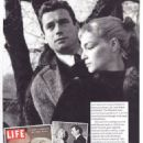 Yves Montand and Simone Signoret - Yours Retro Magazine Pictorial [United Kingdom] (November 2020)