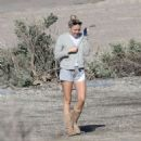 Miley Cyrus at the beach in Malibu