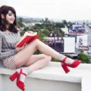 Alison Brie Rene and Radka Photoshoot For Yahoo Style 2016