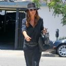 Kate Walsh: at Andy Lecompte Salon in West Hollywood