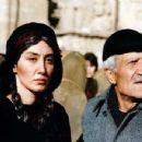 Hedye Tehrani as Hesho and Ismail Ghaffari as Mamo in Half Moon. Photo by Bahman Ghobadi. - 454 x 349