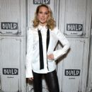 Anna Camp – Visits Build Studio in New York City - 454 x 681