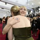 Greta Gerwig and Saoirse Ronan At The 92nd Annual Academy Awards - Arrivals - 454 x 525