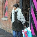 Katie Holmes – Shopping candids in New York