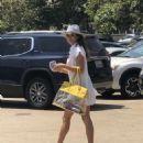Brooke Burke in Mini Dress – Out in Malibu - 454 x 606