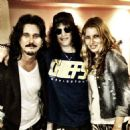 Gilby and Daniella Clarke with Slash