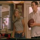 Tara Reid and Chris Klein in Universal's comedy movie American Pie 2 - 2001
