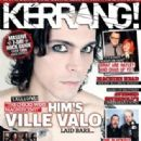 Ville Valo - Kerrang Magazine Cover [United Kingdom] (3 October 2010)