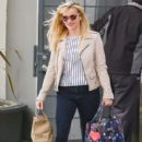 Reese Witherspoon is seen leaving the office in Los Angeles Ca March 23, 2016