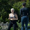 Bebe Rexha – Working out in Los Angeles