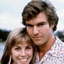 Dennis Quaid and Bess Armstrong