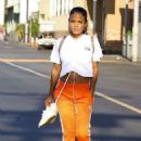 Christina Milian – Seen leaving a nail salon in LA - 454 x 643