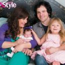 Carnie Wilson and Rob Bonfiglio and Luciana Bella with Lola Sofia