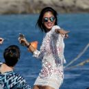 Nicole Scherzinger On Yacht In Mykonos 08/02/2016 - 454 x 631