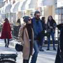 Abigail Spencer with her new boyfriend – Out in Paris - 454 x 682