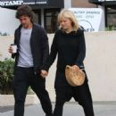 Malin Akerman and boyfriend Jack Donnelly out in Hollywood - 454 x 587