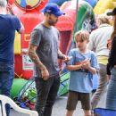 Pete Wentz spotted at Farmer's Market Sunday October 16, 2016 - 453 x 600