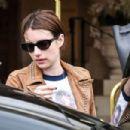 Emma Roberts – Leaving The Ritz Hotel in Paris 03/06/2019 - 454 x 303