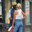 Pixie Geldof is spotted donning a casual look out in Soho - 454 x 708