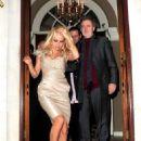 Pamela Anderson - Outside 'Les Ambassadors' Casino (12/24/09)