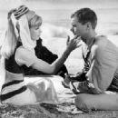 Barbara Eden and Larry Hagman