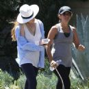 Isla Fisher Hiking In Los Angeles