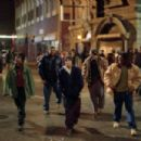 De'Angelo Wilson, Omar Benson Miller, Eminem, Evan Jones and Mekhi Phifer in Universal's 8 Mile - 2002 - 454 x 303