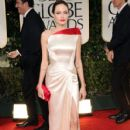 Angelina Jolie  at the 69th Annual Golden Globe Awards held at the Beverly Hilton Hotel on January 15, 2012 in Beverly Hills