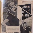 Brigitte Bardot - Cinemonde Magazine Pictorial [France] (24 July 1958) - 454 x 605