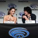 Lindsey Morgan – 'The 100' Panel at WonderCon 2018 in Anaheim - 454 x 572