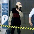 Bella Hadid – Arrives at JFK Airport in New York