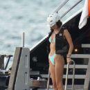 Bella Hadid enjoy some jet ski during holiday season in St. Bart's