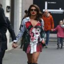 Sarah Hyland- Seen while out and aboutin in Milan in italy