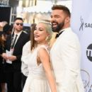 Lady Gaga and Ricky Martin At The 25th Annual Screen Actors Guild Awards 2019 - 423 x 600