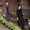 Hatice Sendil &  Burak Sagyasar - Delibal Movie Premiere After Party