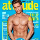 Philip Olivier - Attitude Magazine Cover [United Kingdom] (February 2014)