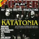 Anders Nyström, Jonas Renkse - Power Play Magazine Cover [United Kingdom] (January 2010)