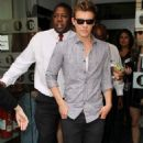 Xavier Samuel leaving BBC Studios in London - July 1, 2010