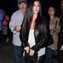 Kourtney Kardashian Night Out In Hollywood