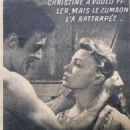 Quand sonnera midi - Cine Revelation Magazine Pictorial [France] (3 October 1957) - 454 x 679