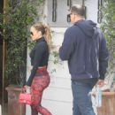 Jennifer Lopez and Alex Rodriguez – Arrives at the gym together in Los Angeles