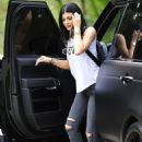 Kylie Jenner In Tight Jeans Out and About In Malibu