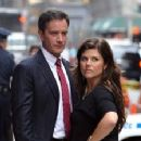 Tiffani Thiessen and Tim DeKay