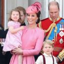 Prince Windsor and Kate Middleton : Trooping the Colour 2017 - 454 x 591