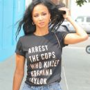 Draya Michele – Out and about with her friends