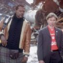 Samuel L. Jackson and Robert Carlyle in Columbia's Formula 51 - 2002