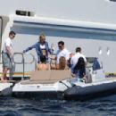 Selena Gomez On A Boat In Saint Tropez