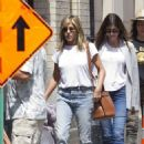 Jennifer Aniston – On the set of 'Murder Mystery' in Montreal