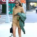 Gigi Hadid is seen out and about in New York City, New York on July 5, 2016