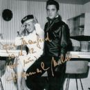 Elvis Presley and Hannerl Melcher - 400 x 570